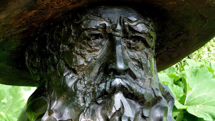 Buste de Claude Monet, 27620 Giverny , Eure, F,   P1000402.JPG