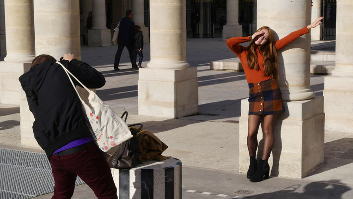 Photographie de Mannequin,  Jardins du Palais Royal, 75001 Paris, F,