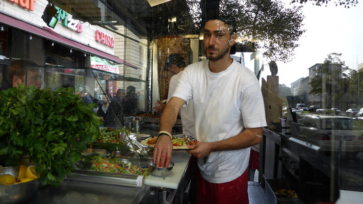 Cuisinier, Kebab,  New Kische, Berlin D , P1000163