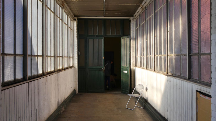 Couloir, Atelier,  La Courneuve, F,