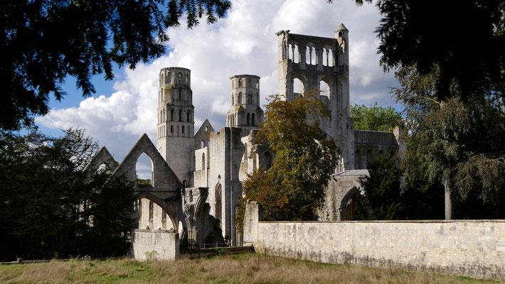 Abbaye de Jumièges, Normandie, F,