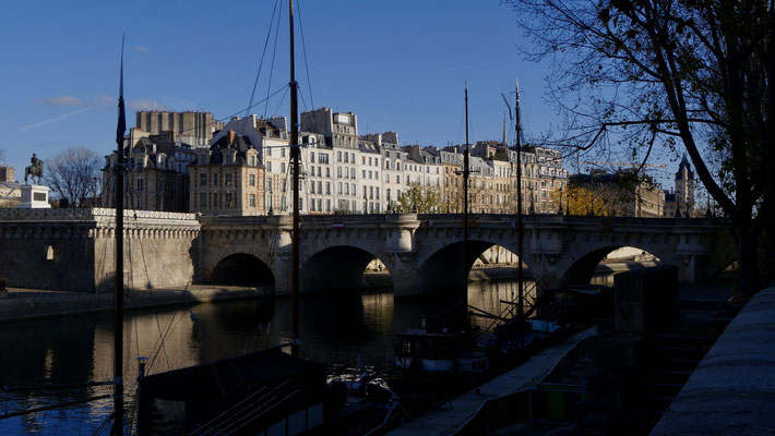 Ile de la Cité, depuis le Quai  de Conti, 75006 Paris, F,