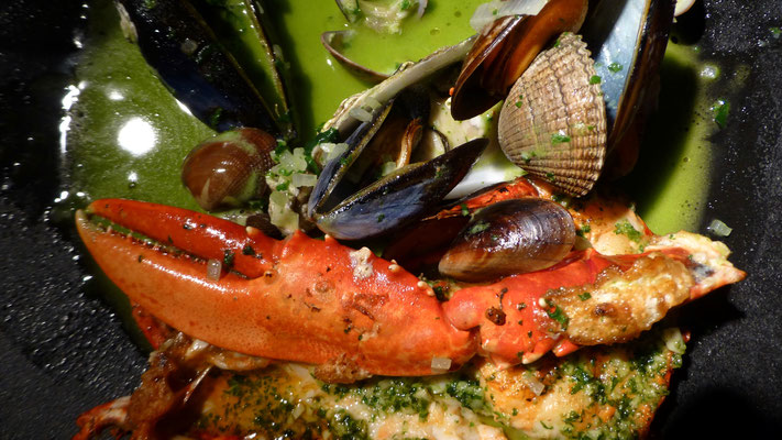 Fruits de mer, Restaurant Ondine, Edimbourg, Ecosse , Sc, P1040053