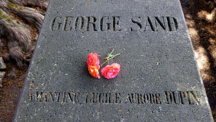 Tombe de George Sand, Maison de George Sand, Nohant,  Indre, F,  P1040538