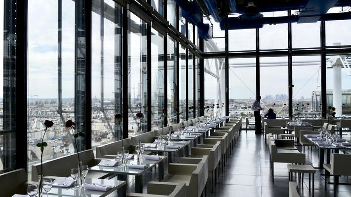 Restaurant, Centre pompidou, Beaubourg,75003 Paris, F,