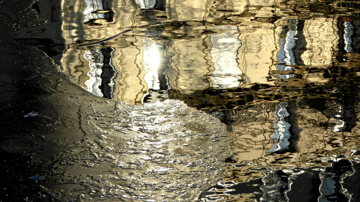 Reflets Glace, Canal Saint Martin, 75010 Paris, F,