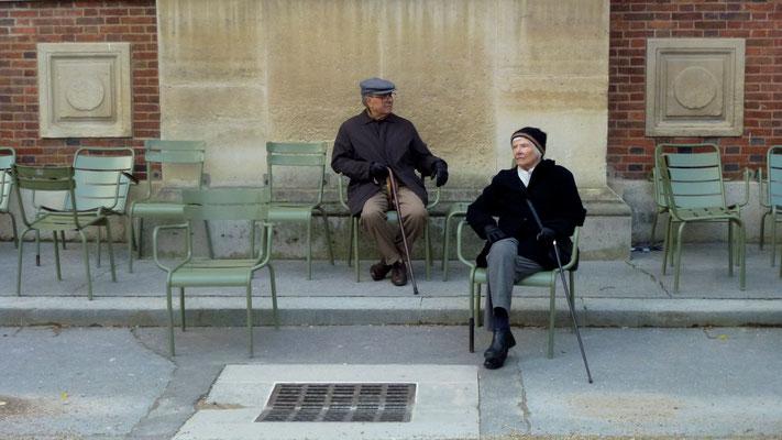 Couple,  Jardin du Luxembourg, 75006 Paris, F,  P1040877