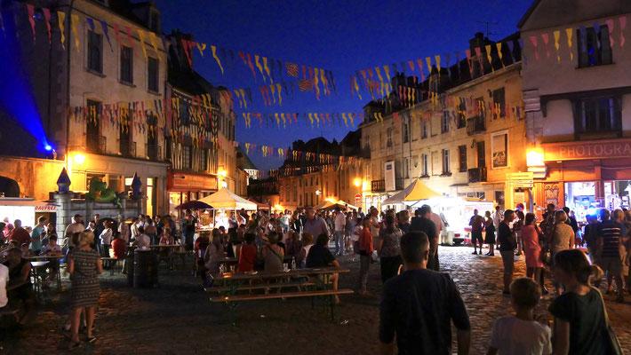 """Sempé, """"un artiste dans la ville"""", Semur en Auxois, Bourgogne, F,"""
