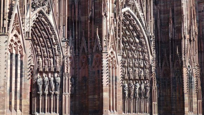 Cathédrale de Strasbourg, Strasbourg, Alsace, F, P1000311