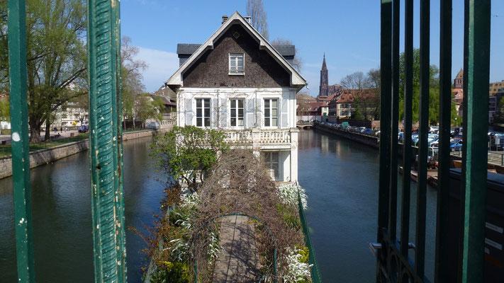 Maison des Ponts Levants, Petite France, Strasbourg, Alsace, F,  P1000263