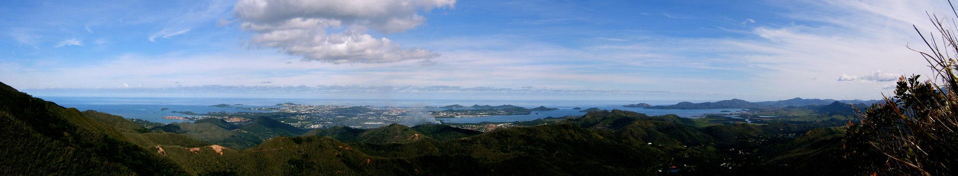 Panorama, Nouméa, Nouvelle Caledonie, NC,   JPG