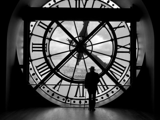 Jean Louis,  Horloge, Musée d' Orsay,75007 Paris, F, (Avec le temps...)