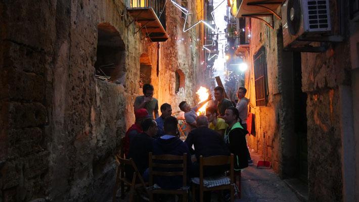 Barbecue, Palerme, Sicile, Italie, It,