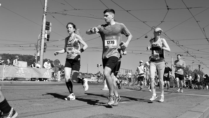 Marathon de Prague 2018, Prague, Tchéquie, Cz,
