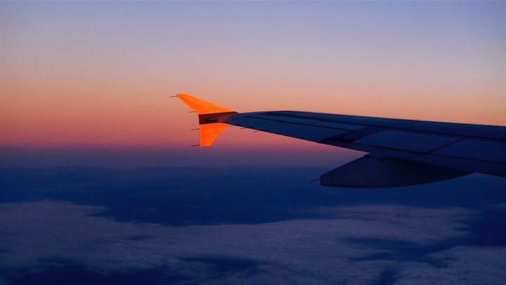 Sunset,  Fly Seville-Paris, Sp,  P1100701.JPG.jpg