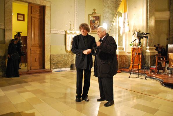 Jozsef Acs Komponist , Tibor Baranyi Dichter