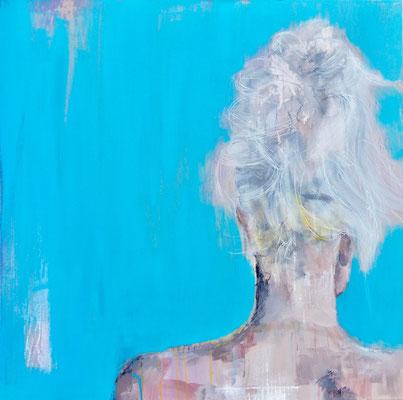 POSTERIORE / 11 - Acryl/Öl auf Leinwand - 80 x 80 cm - 2017