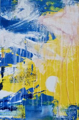 NEUANFANG - Acryl auf Leinwand - 80 x 120 cm - 2017