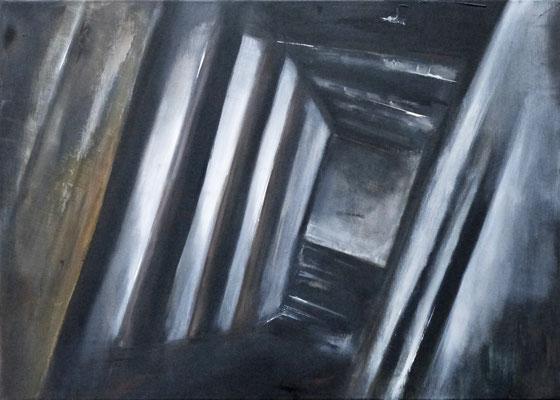 TWISTED I - Acryl/Öl auf Leinwand - 70 x 50 cm - 2016