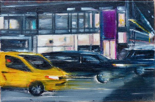 NY 5.0 - 20 x30 cm - Öl auf Leinwand -  2019