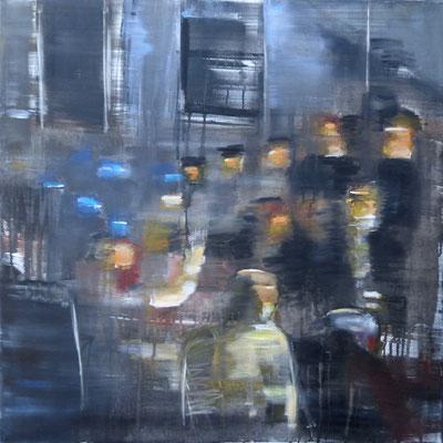 IN CONCERT - Öl auf Leinwand - 80 x 80 cm - 2017