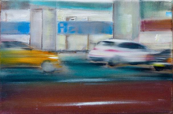 NY 6.0 - 20 x30 cm - Öl auf Leinwand -  2019