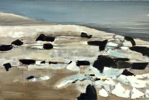 RANTUMEIS - Acryl/Öl auf Leinwand - 80 x 120 cm - 2019