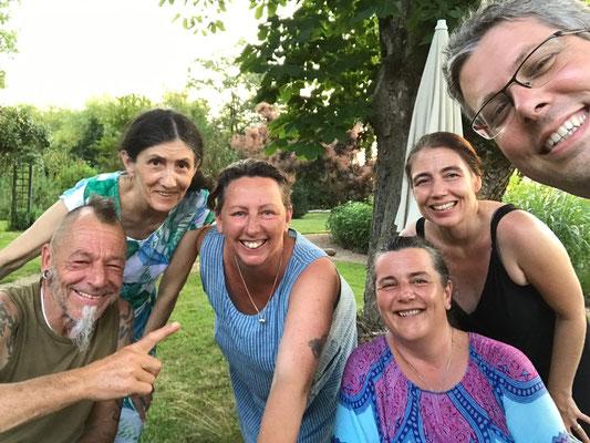 Marlen &  Willi, Manuela & Roger und Paula