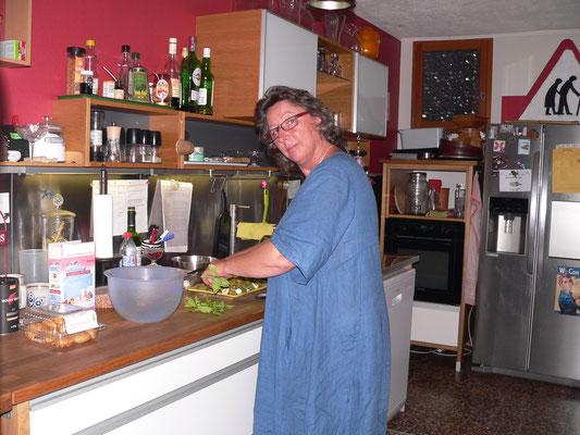 09.06. Fleissig in der Küche
