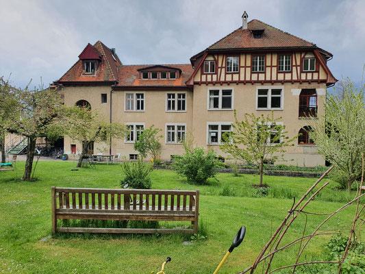 Das Seminarhaus, Blick über den Gemeinschaftsgarten