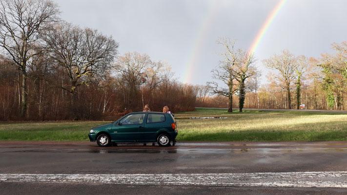 Ein Regenbogen für den letzten Abend