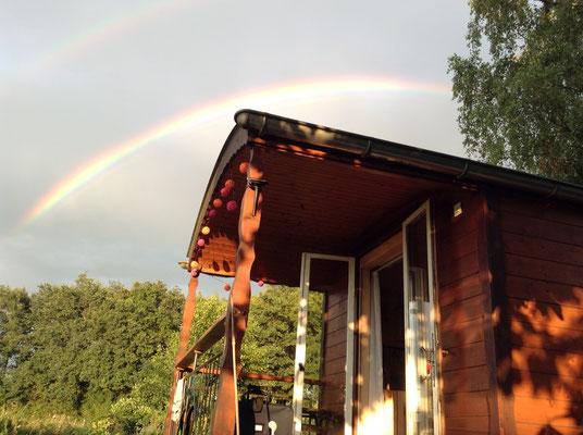 14.07. Ein Regenbogen über der Gypsy