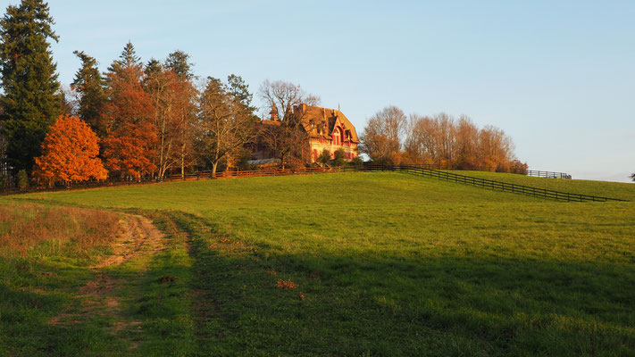 Das Château von Issy L'Évêque