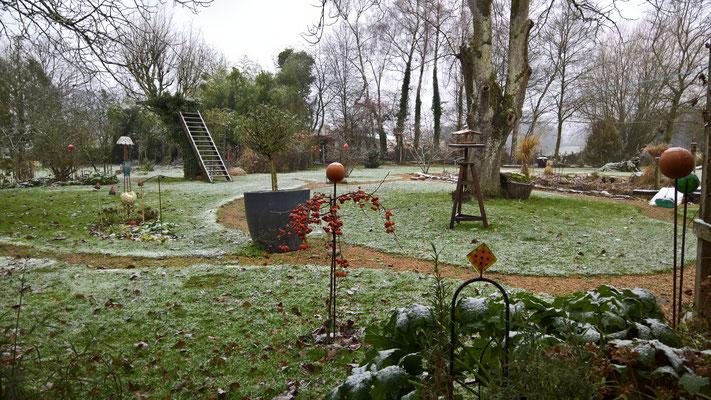 17.12. Ein wenig Schnee