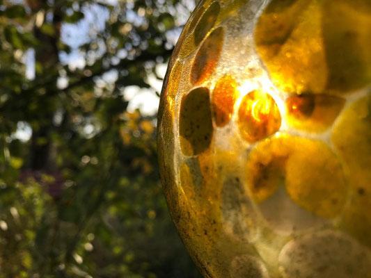 30.10. Blick durchs Glas