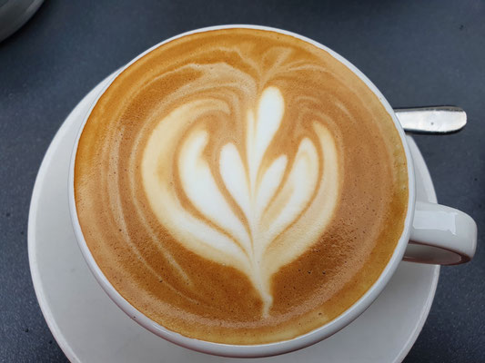 Cappuccino in Konstanz
