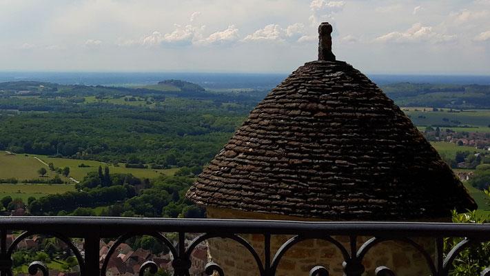 Blick in die Bresse-Ebene