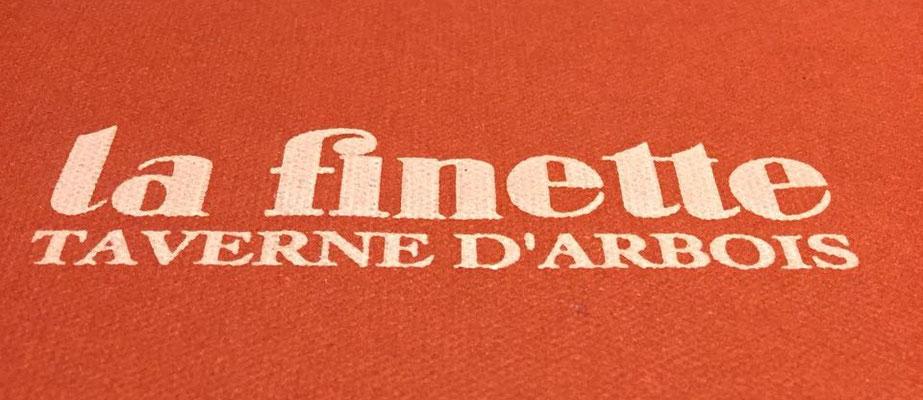 Mittagessen in der Taverne La Finette in Arbois