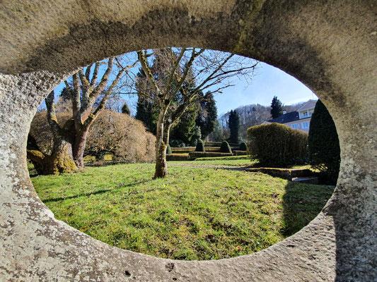 nette Einsichten in den Schlossgarten