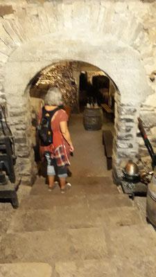 Man kann Kellereien besichtigen