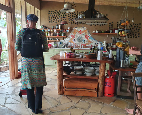 Kochbereich im Wohnraum