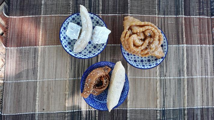 Tunesische Kekse vom Arabermarkt in Chalon