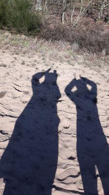 26.02. Schattenspiele auf dem Sand