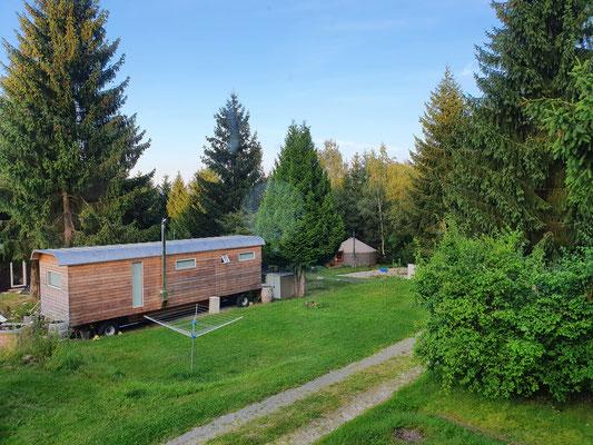 Verschiedene kleine Häuser