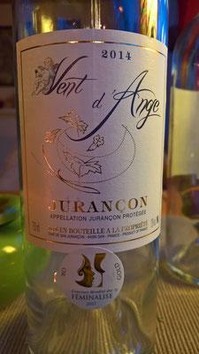 Der Jurançon kommt aus dem südwestlichen Frankreich, er ist süsslich und süffig - mehr auf dem Link