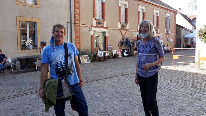 Peter und Sonja - meine Helfer aus Deutschland