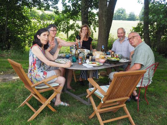 Besuch von Tobias & Alinda - Freunde von Pit & Pia
