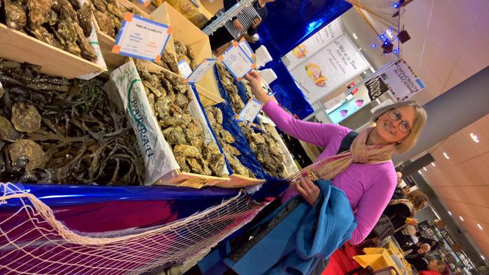 Das erste Mal Austern gekostet! Gar nicht so übel!