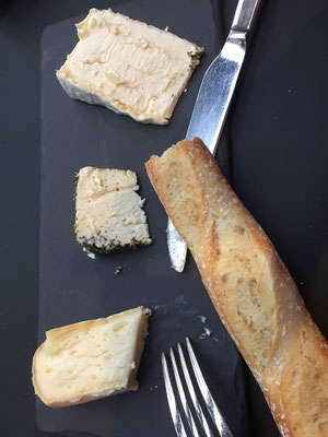 Séléction de trois fromages affinés