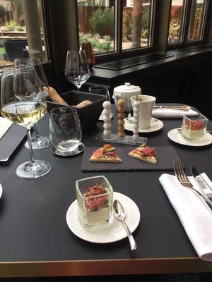 Der nett gedeckte Tisch